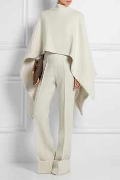 Lemaire Wool Cape / net-a-porter / Made in Italy