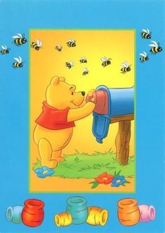 My Collections-Winnie the Pooh - Jian Ke Deng - Picasa Web Albums Cute Winnie The Pooh, Winne The Pooh, Winnie The Pooh Quotes, Winnie The Pooh Friends, Kids Room Paint, Paddington Bear, Holly Hobbie, Pooh Bear, Eeyore