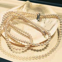 Available at Ginza Watatsumi  #珍珠 #真珠 #アコヤ #銀座 #jewelry #jewel #jewellery #jewelryforsale #jewellerylover #jewelrygram #jewels #necklace #necklaces #necklaceset #pearl #pearls #ginza #tokyo #fashion #fashionaddict #whitepearl