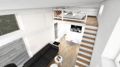 Modernt Attefallshus Leonor 25 kvm med loft | Modulhus Compact Living, Tiny House, Beach House, Minimalism, Innovation, Ikea, House Ideas, Architecture, Interior