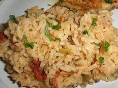 Cajun Creole Style Rice -- super easy to make and looks delicious!