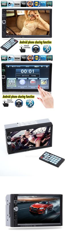 Other Car Audio: 7 2 Din Bluetooth Car Stereo Radio Mp3 Mp5 Player Fm Usb Tf Android Mirror Link -> BUY IT NOW ONLY: $58.89 on eBay!