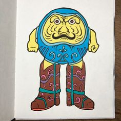 Japanese Style, Japanese Art, Daruma Doll, Pigma Micron, Alcohol Markers, Daily Drawing, Moleskine, Doodles, Drawings