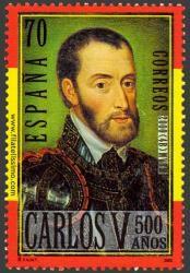 Carlos V a los 40 años. Retrato de Corneille de la Haye.