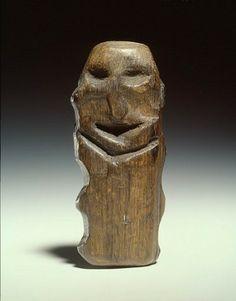 idool Mesolithic wooden idol