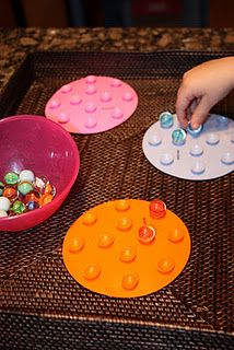 Loads of fun and easy activities for toddlers! Thanks Chrissy!