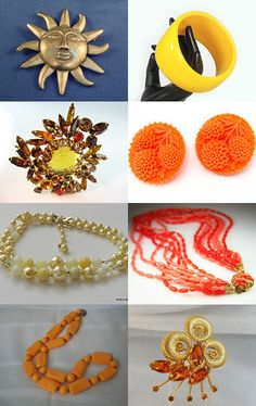 Sunny Summer of Vintage-- Pinned with TreasuryPin.com
