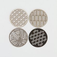 Laser Cut Coaster Set
