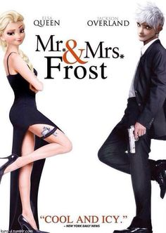 Mr. and Mrs. Frost! XD
