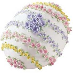 Gorgeous egg cake for Easter