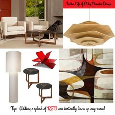 b8ef88239136 Be fearless in your home decor solution - try adding an unexpected splash  of red to