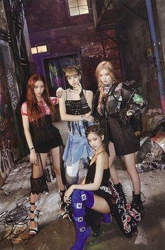 Jisoo, Lisa, Rosé e Jennie Kpop Girl Groups, Korean Girl Groups, Kpop Girls, Blackpink Jisoo, Kim Jennie, Mode Rose, Mode Kpop, Blackpink Members, Black Pink Kpop