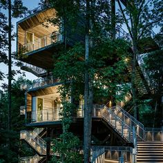 West Virginia treehouse by Mithun hosts the American boy scouts' Jamboree