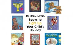 10 Hanukkah Books for Young Children