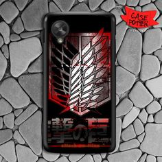 Attack On Titan Military Blood Nexus 5 Black Case