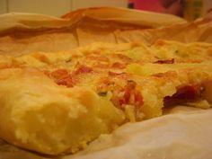 TORTA CON PATATE, FORMAGGIO E SPECK http://blog.giallozafferano.it/ideenelpiatto/torta-con-patate-formaggio-e-speck/
