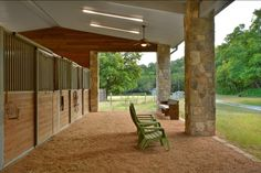 Love the aisle way of this airy barn in the Hill Country, Texas