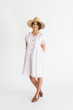 Stephanie Dress:: good for feeding? Clad and cloth