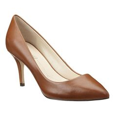 """Boutique 9 pointy toe pump. All leather upper with 3"""" heel & 1/2"""" hidden platform. This style is available exclusively @ Nine West Stores & ninewest.com."""