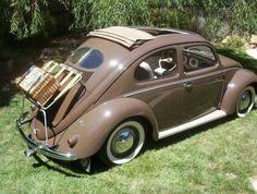 1951 Volkswagen Beetle with Deluxe Sunroof