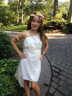 Make a Greek Goddess Costume