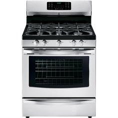 Kenmore - 74333 - 5.6 cu. ft. Gas Range w/ True Convection - Stainless Steel | Sears Outlet item 74333/model: 74333