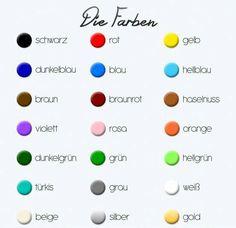 German Colours