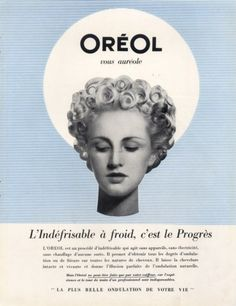 L'Oréal (Cosmetics) 1947 Oreol, Hairstyle