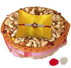 Celebrating RakshaBandhan the E-Way!!http://goo.gl/FlhBDv  Send #RakhiGifts to #India  Buy #Lumba #RakhiOnline #BhabhiKeRakhi