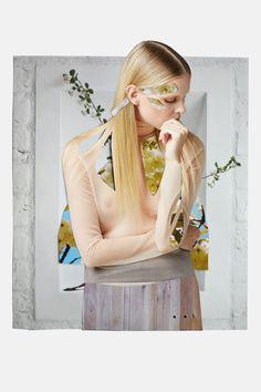 Top: Cos, collage, fashion, Meriç Canatan