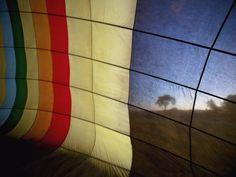 Cloth Panel, Hot-Air Balloon, Kenya