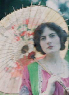 1907-1925 John Cimon Warburg's Autochromes
