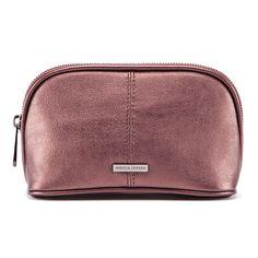 Jessica Jensen Cassidy Cosmetic Bag in Plum Haze