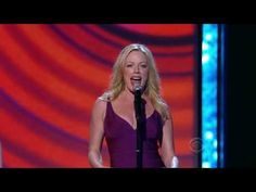 """Sheri Renee Scott from """"Everyday Rapture"""" at the Tony Awards. It's like a minute-5 and you're in heaven using the ladder to the roof, of course."""