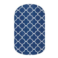 Navy Quatrefoil.  Love these because they match everything!  Apply with heat - remove with heat.   Jamberry Nail Wraps  www.nailparty.jamberrynails.net