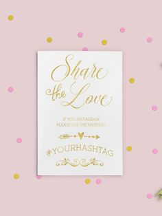Instagram Hashtag Sign Printable Hashtag Sign by AlniPrints