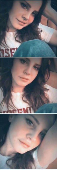 Lana Del Rey on her Instagram #LDR