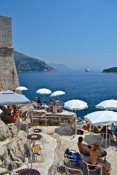 Cafe Bard Mala Buza - Dubrovnik, Croatia