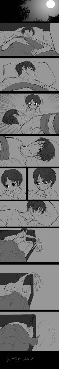 Levi and baby Eren // AoT