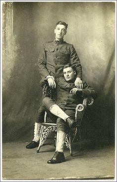 Vintage Gay Soldiers