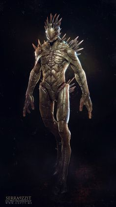 Creature Spot - The Spot for Creature Art, Artists and Fans - Aliens fromMKS