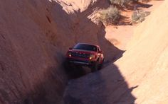 Video Find: 2012 Ford F-150 SVT Raptor Rock Climbing In Moab - Motor Trend WOT