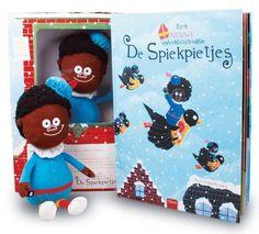De Spiekpietjes / boek + knuffelpopje