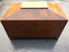 Mahogany Tea Caddy c. 1830
