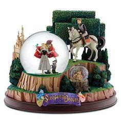 Disney Snowglobes Collectors Guide: Sleeping Beauty Snowglobe