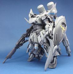 "Custom Build: MG 1/100 Sinanju ""Georg"" - Gundam Kits Collection News and Reviews"