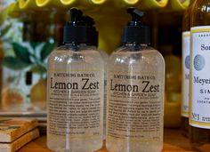 Lemon Zest Kitchen & Garden Soap   watsonkennedy.com