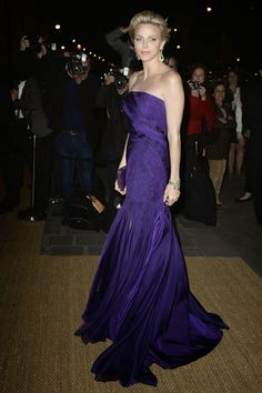 MYROYALS & HOLLYWOOD:  Princess Charlene attended a Ralph Lauren Collection Show and private dinner at Les Beaux-Arts de Paris  in Paris, October 8, 2013.
