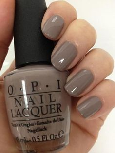 Here are the 10 most popular nail polish colors at OPI - My Nails Opi Nail Polish Colors, Fall Nail Colors, Opi Nails, Brown Nail Polish, Winter Colors, Nagellack Design, Nagellack Trends, Taupe Nails, Winter Stil