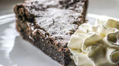 Schwedischer Kladdkaka Schokoladenkuchen Rezept